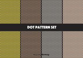 Aardrijke Vector Dot Pattern Set