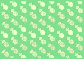 Naadloze Solid Ananas Patroon vector