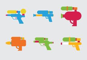 Gratis Water Gun Vector Illustratie