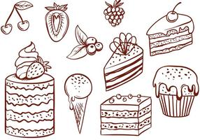 Gratis Cake Vectors