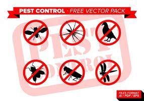 Pest Control Gratis Vector Pack