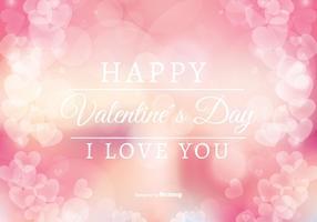 Abstracte stijl Valentijnsdag illustratie vector