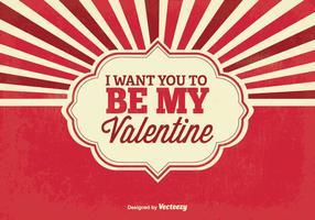 Valentijnsdagachtergrond vector