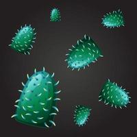 naadloos ontwerp voor groen virus