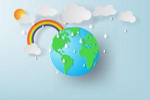 wereld Milieu Dag vector