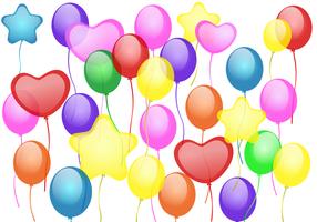 Gratis Ballons Vector