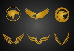 Gratis Golden Eagle Vector