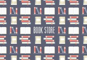Gratis Book Store Patroon Vector