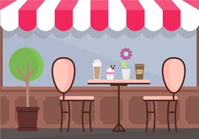 Gratis Coffee Shop Vector