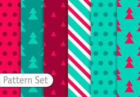 Kerst decoratieve patronen