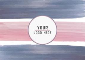 Gratis Paint Strokes Logo Achtergrond