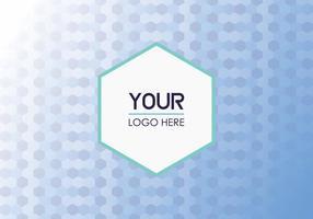 Gratis Geometrische Logo Achtergrond vector