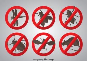 Pest pictogrammen vector