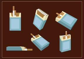 Pakketten sigarettenvector vector