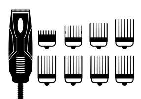 Haarknipsels vector