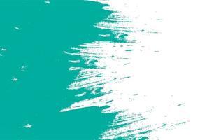 teal groene penseelstreek textuur