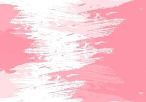 moderne roze grunge penseelstreek