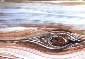 gedetailleerde aquarel knoop houtstructuur
