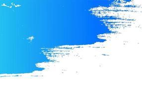 abstracte blauwe penseelstreek achtergrond vector