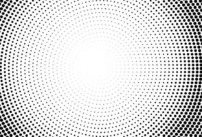 abstracte cirkels zwarte stippen achtergrond vector
