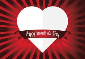 Vector Heart Valentine's Achtergrond