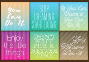Motivatie quotes vector