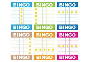 Bingo Card Vectoren
