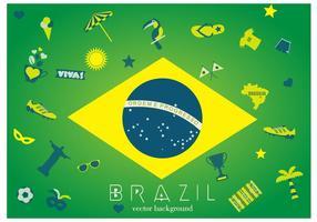 Brazilië Achtergrond vector