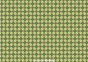 Javaanse Groene Batik Achtergrond Vector