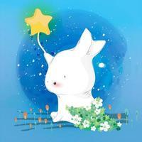 konijntje in de lucht