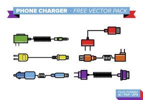 Telefoon oplader Gratis Vector Pack