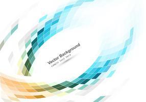 Kleurrijk Mozaïekpatroon Op Witte Achtergrond vector