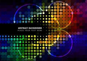Kleurrijk Circulaire Halftone Patroon