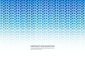 Blauwe Gekleurde Textuur Van Driehoeken En Hexagons vector