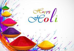 Kleurrijke Holi Poeder