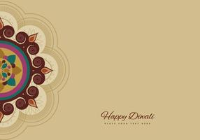 Rangoli Voor Diwali Celebration