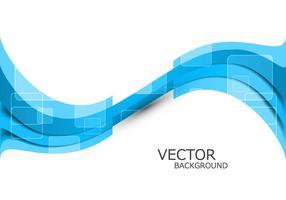 Abstracte Blauwe Golf vector