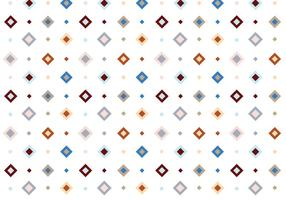 Pastel Vierkant Vector Patroon