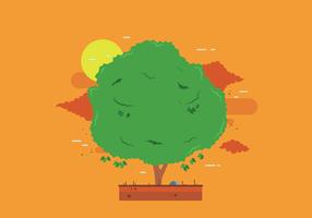 Gratis Mango Tree Vector