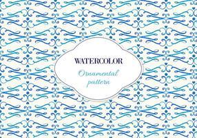 Gratis Vector Waterverf Sierpatroon