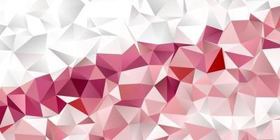 sjabloon voor spandoek met een laag poly geometrisch ontwerp