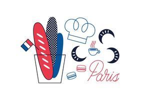 Gratis Parijs Vector