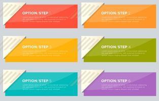 Brochure Informatie Vector Banners