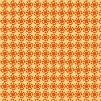oranje geometrisch vormpatroon vector