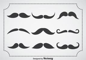 Movember Snor Vector Set