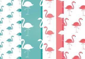 Gratis Vector Flamingo Patronen