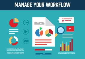 Gratis Workflow Vector Pictogrammen