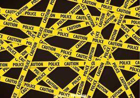 Politie Lijn Achtergrond vector