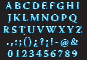 Sneeuw Vector Font Type