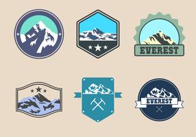 Gratis Everest Logo Vector